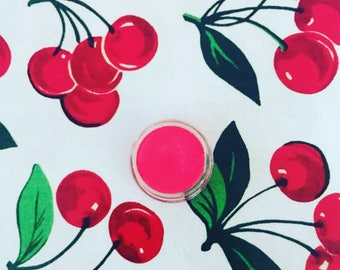 Cherry Red Lip Stain | Cheek Tint | Tinted Lip Balm | Cheek Stain | nourishing lipstick | blush | lip tint