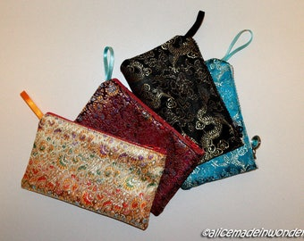 Eastern Dragon fantasy shiny fabric containers.