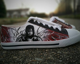 The Walking Dead Daryl Dixon Hand Painted Lace Up Shoes