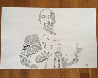 Lin Manuel Miranda Hamilton Lyrics Artwork