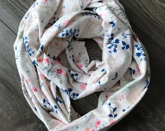 Infinity Scarf, Circle Scarf, Womens Scarf, Mommy and Me, Summer Scarf, Kids Scarf, Loop Scarf