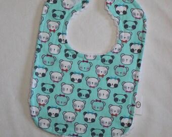 Panda Chenille Boutique Bib