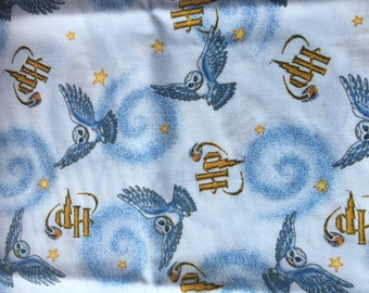 Harry Potter Hedwig Owl Rare and Out of Print Fat Quarter 100% Cotton