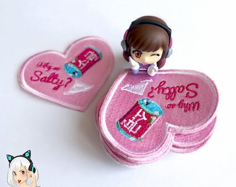 Small 'Salty D.VA' Embroidery Patch