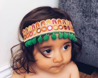 Children's boho style headband