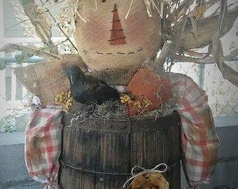 Scarecrow Henry - Pattern Only