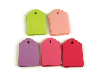 Funky Tags Price Tags Paper Gift Tags in  Butterfly Wings Set of 50