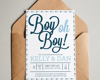 Baby shower invitation etsy baby shower invitation boy oh boy invitation baby shower invite boy baby shower filmwisefo Image collections