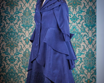 """1950s """"New Look"""" Inspired Coats and Gowns"""