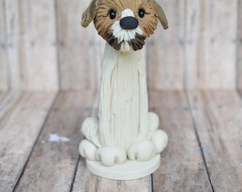 Your Dog made in Clay, Custom Dog ornament, Pet, Personalized Christmas ornament, dog ornament, dog breed ornament, puppy
