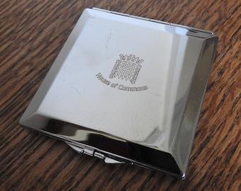 Vintage House Of Commons Compact Mirror, handbag mirror, unusual