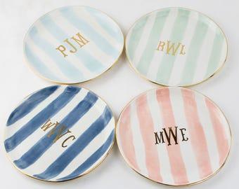 "Monogram SMASH 6"" Dessert Plate"