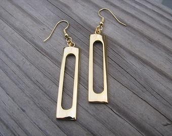 Gold Earrings- Long