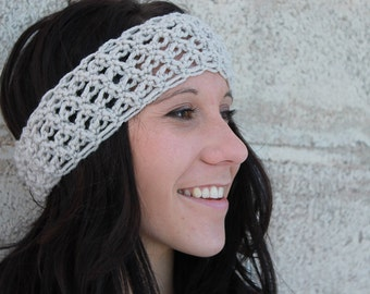 Instant Download - CROCHET PATTERN PDF - Crochet Love Knot Headband - Permission To Sell Finished Items