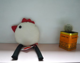 Bird Stuffed toy -Chicken Janet -Easter toy chicken- toy baby&kids-gift ideas kids-nursery-minimal decor-customize you stuffed toy!