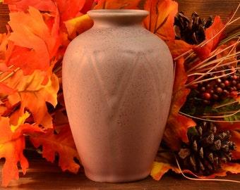Rookwood Pottery Vase, 1920 Matte Pink Geometric A&C Vase #2434