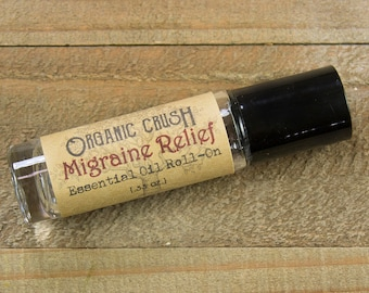 MIGRAINE RELIEF Essential Oil Roll-On | Essential Oils for Migraines | Essential Oils for Headaches | Natural Relief for Migraines