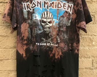 Iron Maiden Book Of Souls Distressed Tee