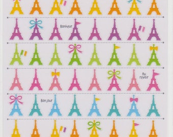 Eiffel Tower Stickers - Mind Wave - Reference F876F1281F1626F1722F2425F2787F2930