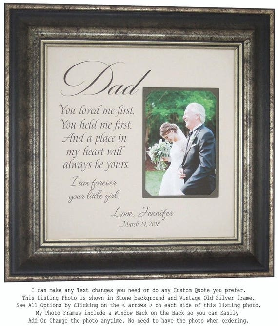 Dad Gift from Bride Father Gift Father Wedding Gift Wedding
