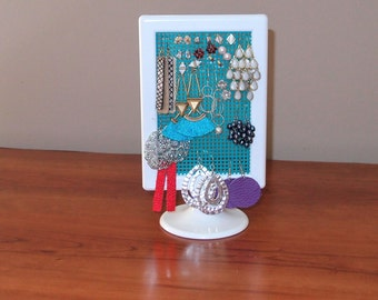 Stud Earring Organizer~Stand~Studs or Dangly~Free Standing