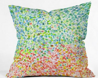 Cool to Warm Outdoor Throw Pillow