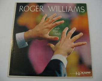 Roger Williams - With These Hands - Circa 1959