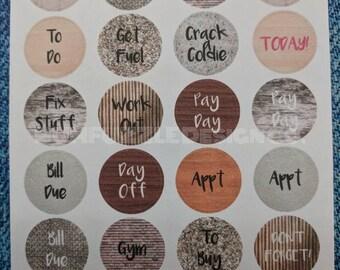 DO IT DOTS | Tradie | Sky | Calendar Diary Planner Schedule Sticker Dots