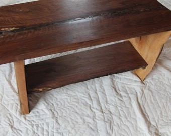 Walnut  and Maple table