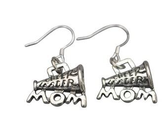 Infinity Cheer Mom Earrings,Cheer Mom Earrings - Cheer Mom Jewelry, Perfect Gift For Cheerleaders, Cheer Teams, Cheer Moms and Cheer Coaches