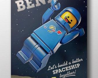 Lego Movie - Benny (poster)