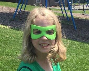 Superhero mask, adjustable elastic cord, age 3+