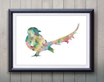 Bird Animal Print - Home Living - Animal Painting -  Bird Animal Art - Wall Decor - Home Decor, House Warming Gifts