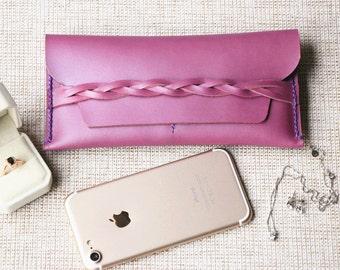 iPhone 7Plus Case PERSONALIZED, Women's iPhone 7 Wallet Case, Phone Wallet, Leather iPhone Case, iPhone 7, 7PLUS, Evening Bag, Woman Handbag