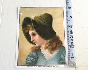 Ephemera scrapbook crafting Victorian Card Album Vintage Antique Advertising Trade Scrapbooking