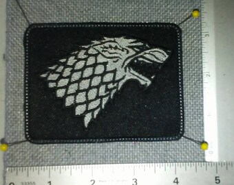 Game of Thrones House Stark Patch