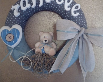 Birth bow/child and child room decoration