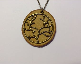 nature pendant necklace