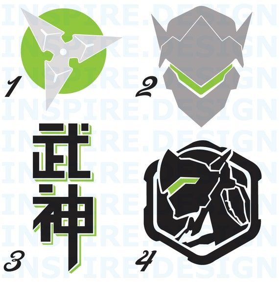 Genji decal plus
