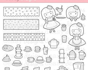 "Digital Stamp Art "" Sweet Treats"""