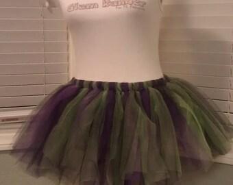 Midsummer Night (Purple, Green & Black) Tutu