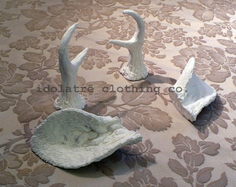 Unpainted Mini Antlers and Faun Ears
