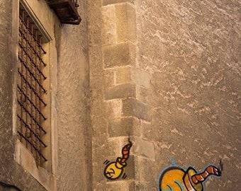 Graffiti print, street art print, Barcelona print, Urban Art, Fine Art Photography