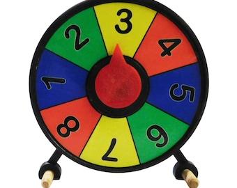 Prize Wheel  Mini Desktop Spinner 4 inch