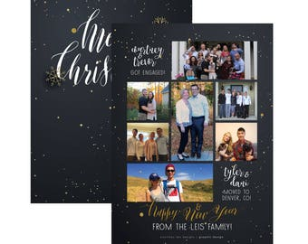 Printed Holiday Cards - 5x7 or 4x6