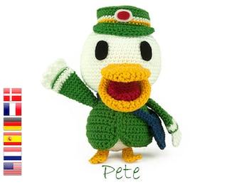 Crochet pattern Pete (Animal Crossing)