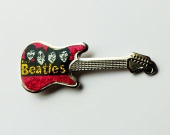 Vintage Beatles Pin Badge