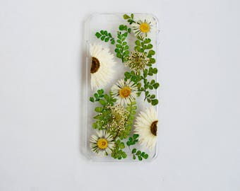 pressed flower phone case Iphone case dried flower Iphone 6s case floral case samsung galaxy s8 case samsung galaxy s5 samsung s3 case girly