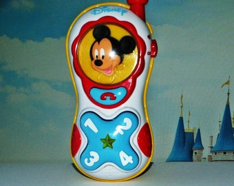 Music vintage Disney Mickey Mouse telephone