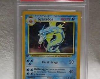 1st edition gyarados holo graded 9